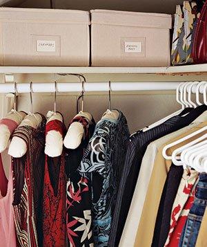 időszakos ruházat tárolása