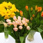 2 egyszerű virágcsokor, amit Te is elkészíthetsz!