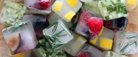 Hűsítsd magad gyümölcsös jégkockákkal!