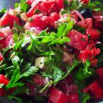 Görögdinnyés görög saláta – könyörgöm, próbáld ki!