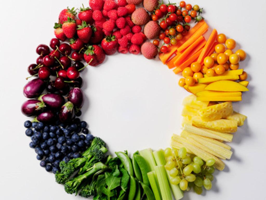 szivárványos gyümölcsök
