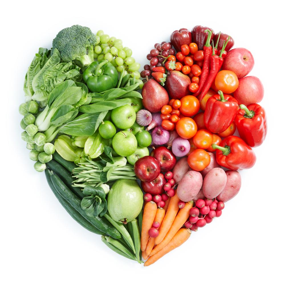 zöldség szív