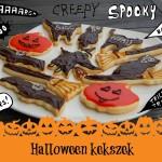Halloween ihletésű kekszrecept sietőseknek és pepecselőknek