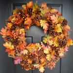 Őszi örömök #5: Csinálj őszi ajtódíszt!