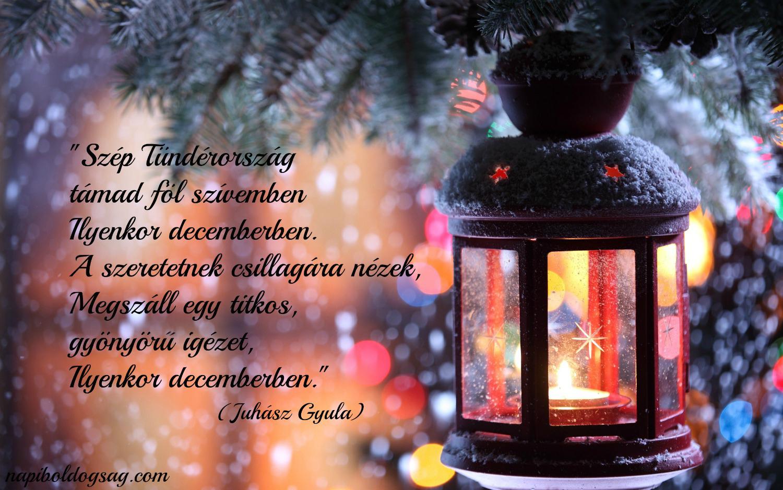 december idézet