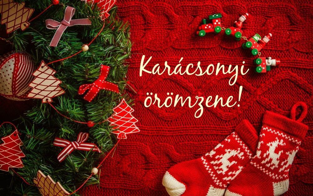 karácsonyi örömzene