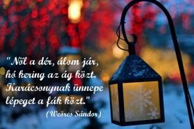 Közeledik a karácsony…