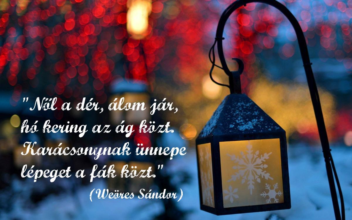 karácsonynak ünnepe idézet