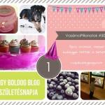 VasárnaPillanatok #50: Egy boldog blog születésnapja