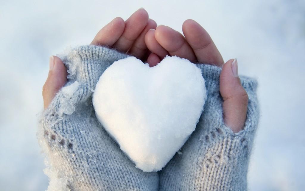 hó szív