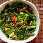 Boldog saláta #5: Pesztós-avokádós csirkesaláta