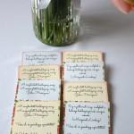 Nyomtatható címkék virágmag vendégajándékhoz