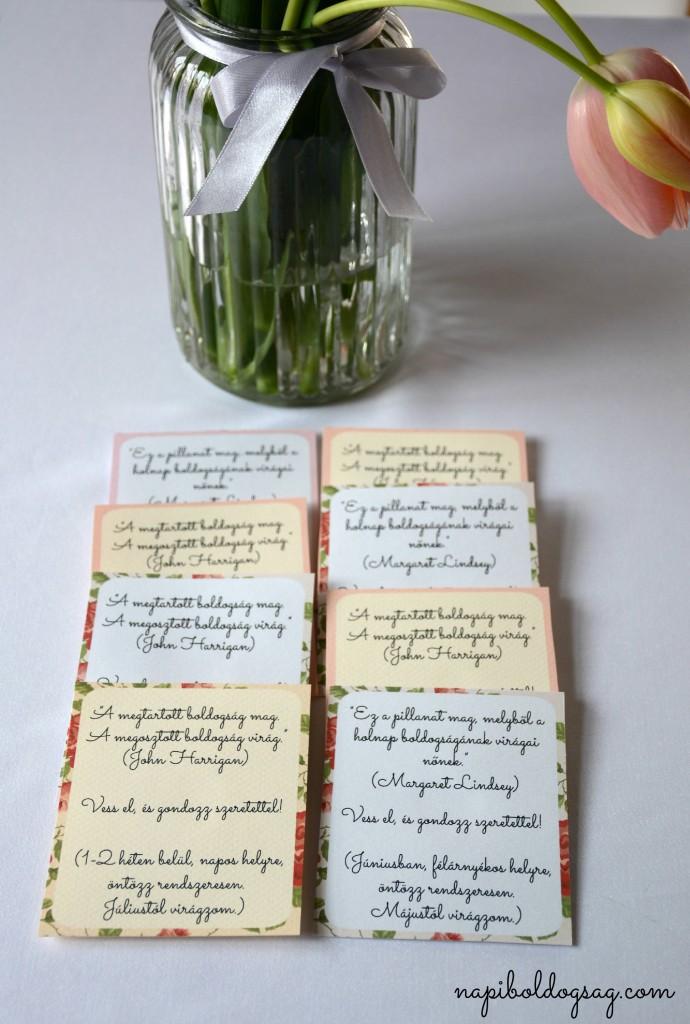 virágmag címkék