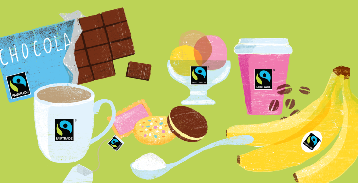 fair trade grafika