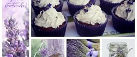 Csodálatos levendulás cupcake (tortácska)
