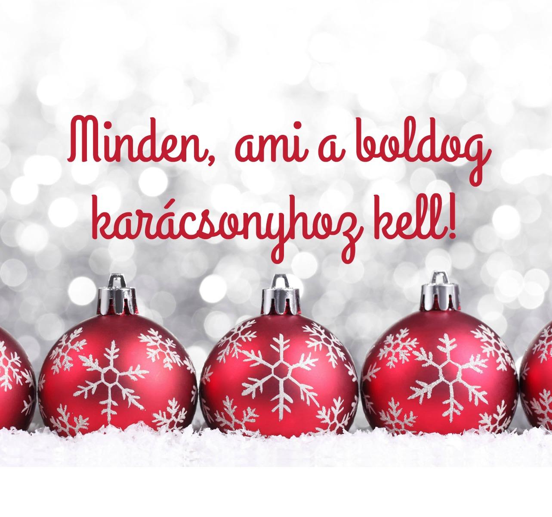 Minden ami a boldog karácsonyhoz kell Napi Boldogság bc977646cf