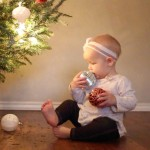 Ilyen a karácsony egy kisbabával