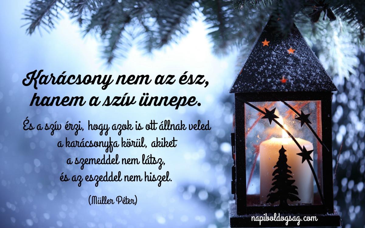karácsony a szív ünnepe