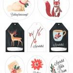 Nyomtatható karácsonyi ajándékkísérők