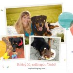 VasárnaPillanatok #190: Boldog 10. szülinapot, Turbó!