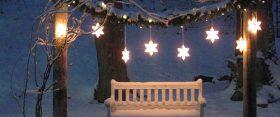 20 ötlet, hogy miként varázsolj a kertbe téli álomvilágot!