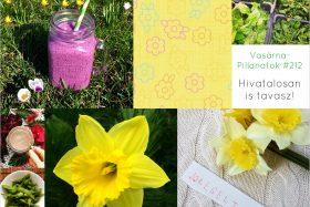 VasárnaPillanatok #212: Hivatalosan is tavasz!