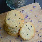 Mennyei levendulás-vaníliás kekszek