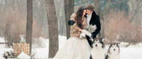 31 varázslatos téli esküvői fotó
